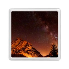 Italy Night Evening Stars Memory Card Reader (square)