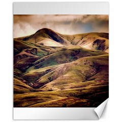Iceland Mountains Sky Clouds Canvas 11  X 14   by BangZart