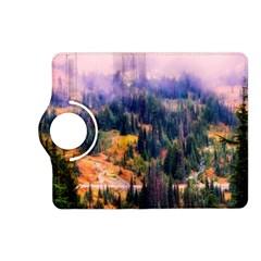 Landscape Fog Mist Haze Forest Kindle Fire Hd (2013) Flip 360 Case by BangZart