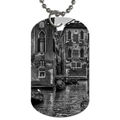 Venice Italy Gondola Boat Canal Dog Tag (one Side) by BangZart