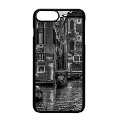 Venice Italy Gondola Boat Canal Apple Iphone 8 Plus Seamless Case (black) by BangZart