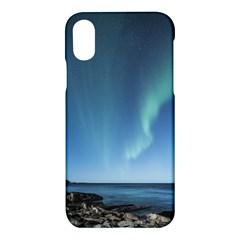 Aurora Borealis Lofoten Norway Apple Iphone X Hardshell Case by BangZart