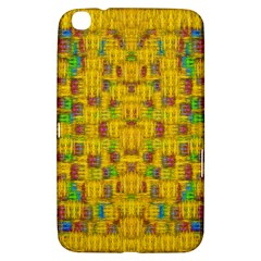 Rainbow Stars In The Golden Skyscape Samsung Galaxy Tab 3 (8 ) T3100 Hardshell Case  by pepitasart