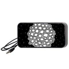 Strange Planet Portable Speaker by jumpercat