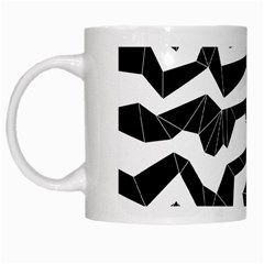 Polynoise Origami White Mugs by jumpercat
