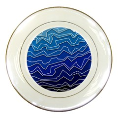 Polynoise Deep Layer Porcelain Plates by jumpercat