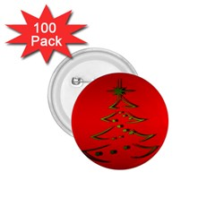 Christmas 1 75  Buttons (100 Pack)  by BangZart