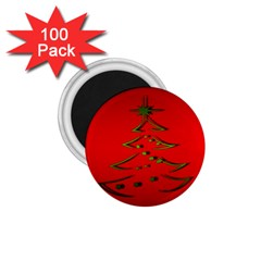 Christmas 1 75  Magnets (100 Pack)  by BangZart