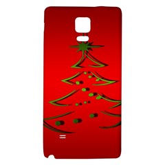 Christmas Galaxy Note 4 Back Case by BangZart