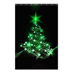 Christmas Tree Background Shower Curtain 48  X 72  (small)  by BangZart