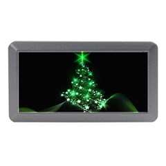 Christmas Tree Background Memory Card Reader (mini) by BangZart