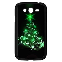 Christmas Tree Background Samsung Galaxy Grand Duos I9082 Case (black) by BangZart