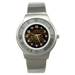 Eye Technology Stainless Steel Watch by BangZart