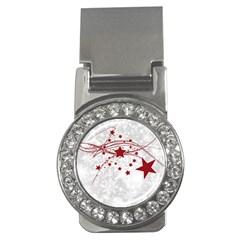 Christmas Star Snowflake Money Clips (cz)  by BangZart