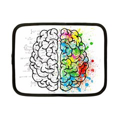 Brain Mind Psychology Idea Hearts Netbook Case (small)  by BangZart