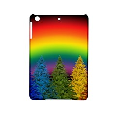 Christmas Colorful Rainbow Colors Ipad Mini 2 Hardshell Cases by BangZart