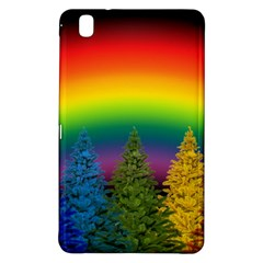 Christmas Colorful Rainbow Colors Samsung Galaxy Tab Pro 8 4 Hardshell Case by BangZart