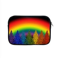 Christmas Colorful Rainbow Colors Apple Macbook Pro 15  Zipper Case by BangZart