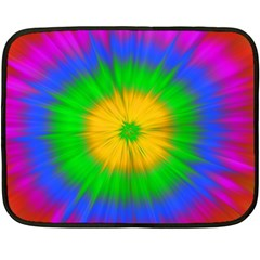 Spot Explosion Star Experiment Double Sided Fleece Blanket (mini)  by BangZart