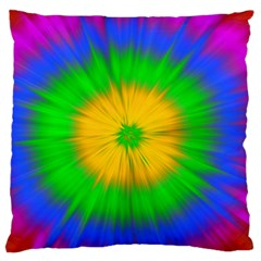 Spot Explosion Star Experiment Standard Flano Cushion Case (two Sides) by BangZart