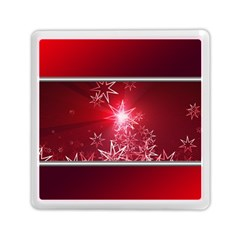 Christmas Candles Christmas Card Memory Card Reader (square)