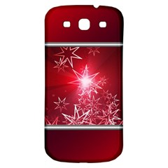Christmas Candles Christmas Card Samsung Galaxy S3 S Iii Classic Hardshell Back Case by BangZart