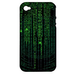 Matrix Communication Software Pc Apple Iphone 4/4s Hardshell Case (pc+silicone) by BangZart