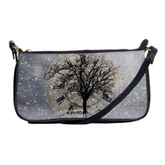 Snow Snowfall New Year S Day Shoulder Clutch Bags by BangZart