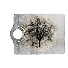 Snow Snowfall New Year S Day Kindle Fire Hd (2013) Flip 360 Case by BangZart