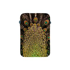 Peacock Feathers Wheel Plumage Apple Ipad Mini Protective Soft Cases by BangZart