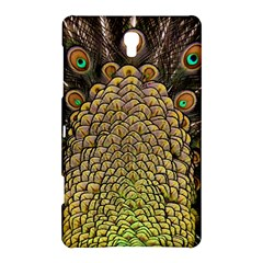 Peacock Feathers Wheel Plumage Samsung Galaxy Tab S (8 4 ) Hardshell Case
