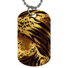 Pattern Tiger Stripes Print Animal Dog Tag (one Side) by BangZart