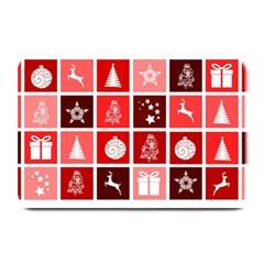 Christmas Map Innovative Modern Plate Mats by BangZart