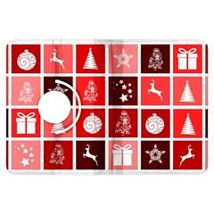Christmas Map Innovative Modern Kindle Fire Hdx Flip 360 Case by BangZart
