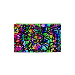 Network Nerves Nervous System Line Cosmetic Bag (xs) by BangZart