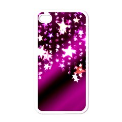 Background Christmas Star Advent Apple Iphone 4 Case (white) by BangZart
