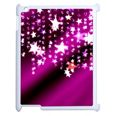 Background Christmas Star Advent Apple Ipad 2 Case (white) by BangZart