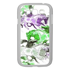 Horse Horses Animal World Green Samsung Galaxy Grand Duos I9082 Case (white) by BangZart