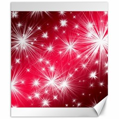 Christmas Star Advent Background Canvas 20  X 24   by BangZart
