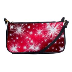 Christmas Star Advent Background Shoulder Clutch Bags by BangZart