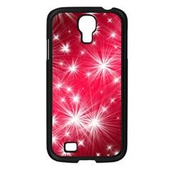 Christmas Star Advent Background Samsung Galaxy S4 I9500/ I9505 Case (black) by BangZart
