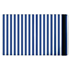 Blue Stripes Apple Ipad 2 Flip Case by jumpercat
