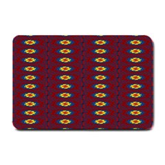 Geometric Pattern Small Doormat  by linceazul
