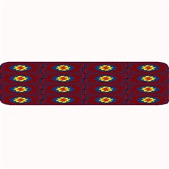Geometric Pattern Large Bar Mats by linceazul