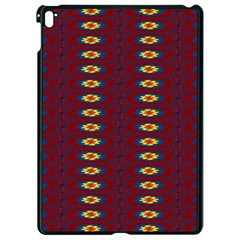 Geometric Pattern Apple Ipad Pro 9 7   Black Seamless Case by linceazul