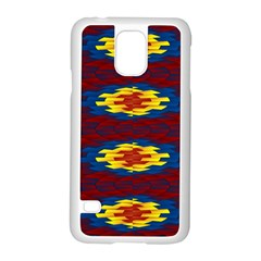Geometric Pattern Samsung Galaxy S5 Case (white) by linceazul