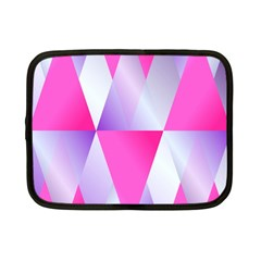 Gradient Geometric Shiny Light Netbook Case (small)  by BangZart