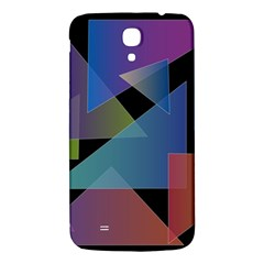 Triangle Gradient Abstract Geometry Samsung Galaxy Mega I9200 Hardshell Back Case by BangZart