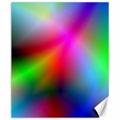 Course Gradient Background Color Canvas 8  X 10