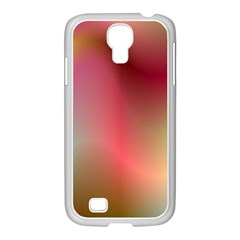 Colorful Colors Wave Gradient Samsung Galaxy S4 I9500/ I9505 Case (white) by BangZart